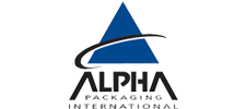 logo Alpha packaging